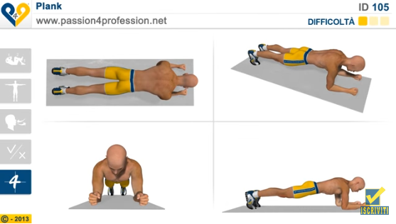 plank-addominale